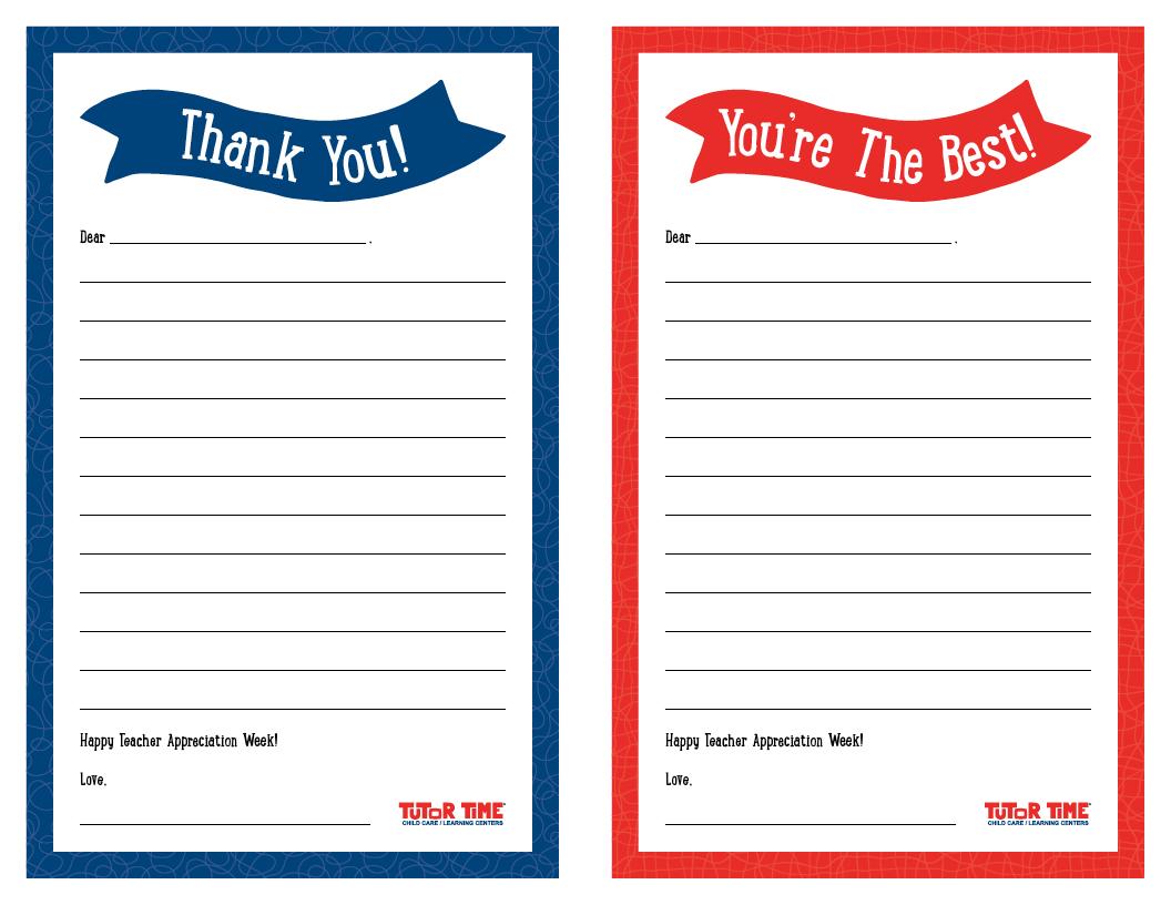 teacher thank you note template teachers teacher thank you note template tk
