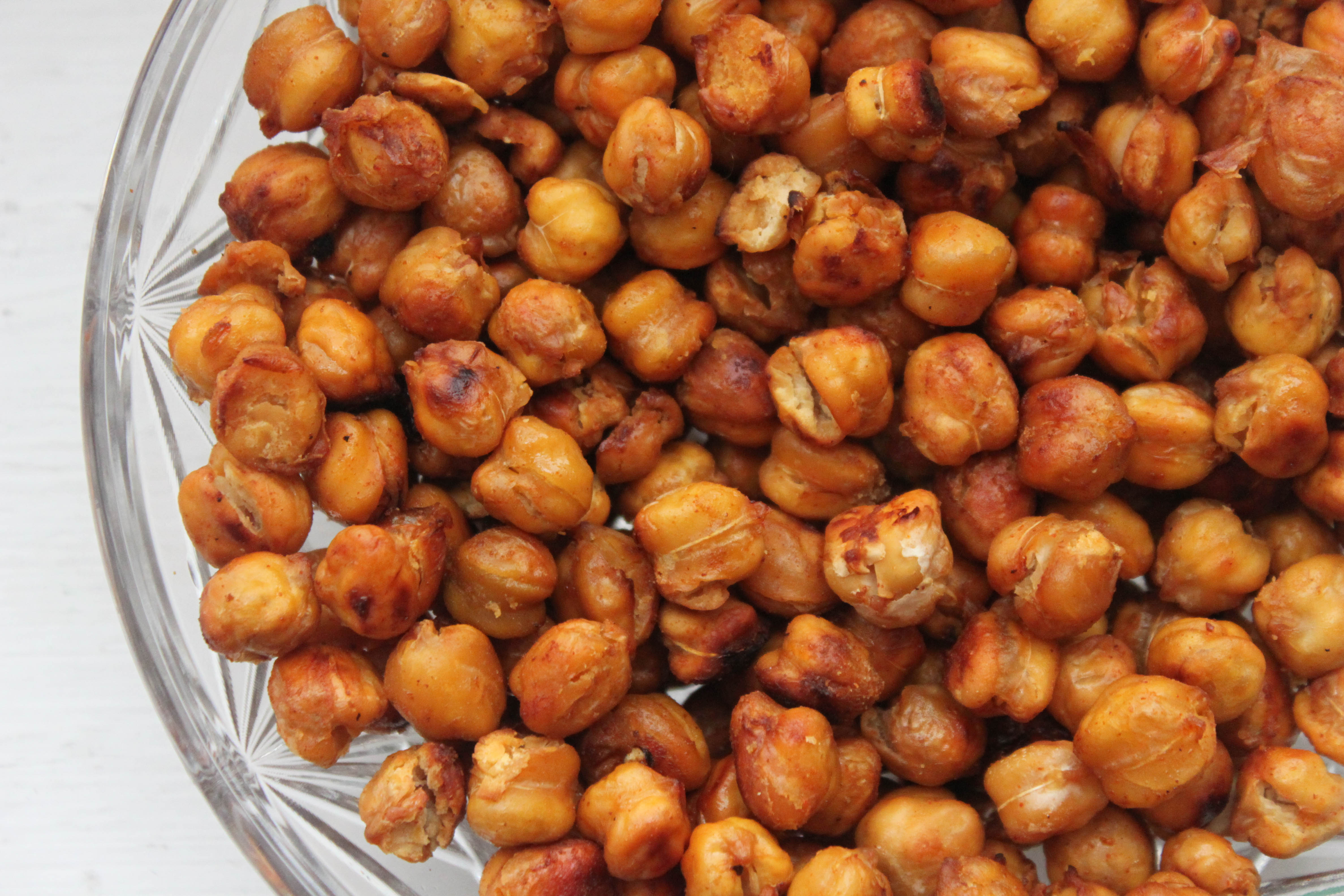 Roasted Chickpeas - Healthy Summer Snack Recipe