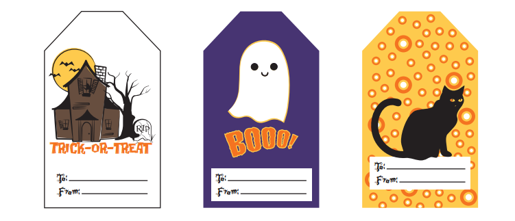 Halloween Printable Treat Tags