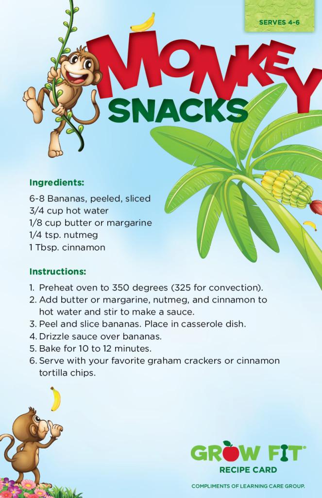 Monkey Snack Recipe