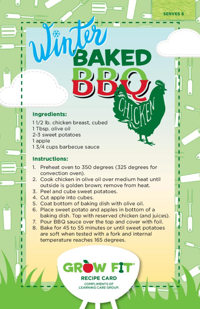 Winter Baked BBQ Chicken Recipe