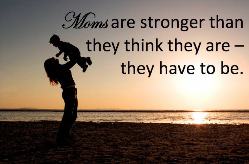 a memory of my mother a strong woman I'm a strong woman thanks to my no-nonsense mama in my eyes as a child, no one — not even my dad — was more powerful than my mom, who i nicknamed the strong.