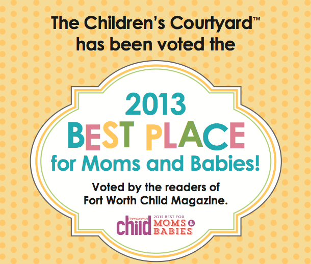 Children's Courtyard Voted Best Place for Moms and Babies