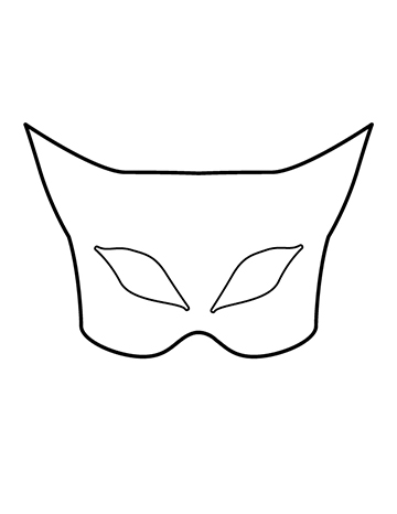 Free Children's Halloween Mask