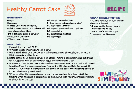 Kid-Friendly Recipes - Healthy Carrot Cake