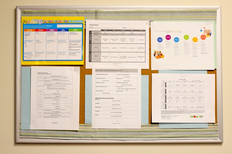 How the Family Board Supports Learning at Home