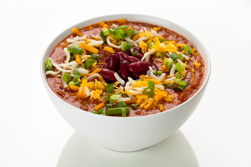 Simple Slow Cooker Turkey Chili