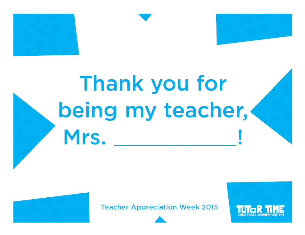 Teacher Appreciation Week Photo Props