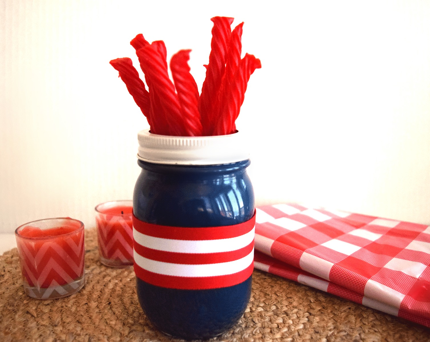 DIY 4th of July Decor Craft