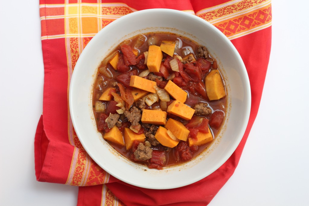 Healthy Sweet Potato Halloween Stew