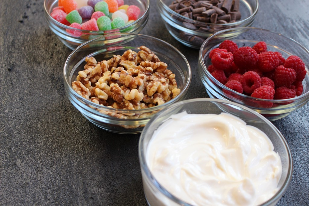 Build Your Own Yogurt Parfait Bar