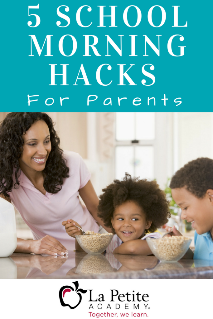 5 School Morning Hacks for Parents - lpa