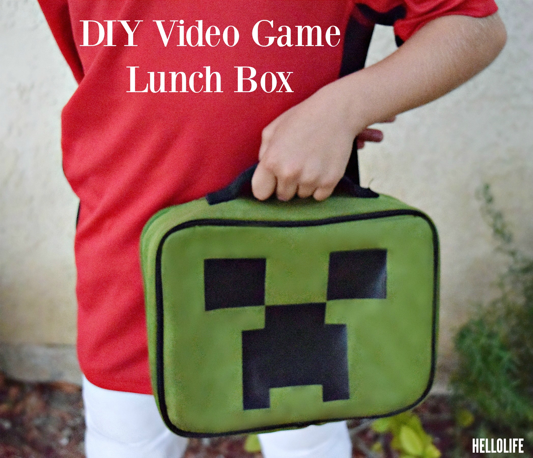 Diy Video Game Lunch Box Child Time