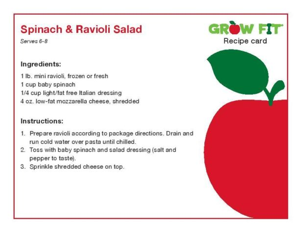 Spinach and Ravioli Salad Recipe-page-001