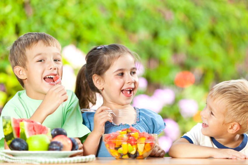 helping your child learn to choose healthy foods